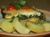 Špenátové vejce recept