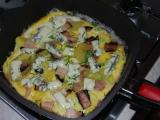Královská omeleta recept