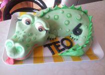Piškotový dort  patrový recept