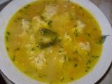Spokojenka s drožďovo-sýrovými knedlíčky recept