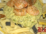 Brutzel-Svejk Pasta s krevetami se zeleninovým Relisch recept ...