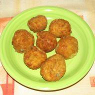 Cuketovo-sýrové kuličky recept