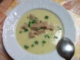 Krémová polévka z brambor a cukety recept