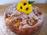 Piškotový koláč s ovocem bezlepkový ( nebo s lepkem ) recept ...