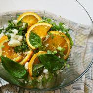 Květákový salát s pomerančem recept