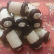 Mandlové trubičky bez lepku recept