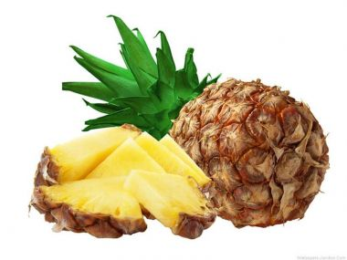 Ořechovo ananasové řezy