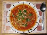Zimní minestrone s krutony recept