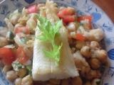 Mořská štika s cizrnou recept