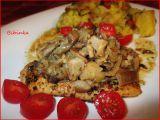 Kuřecí steak s hlívovou čepičkou recept