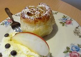 Štrůdlové muffiny s vanilkovým krémem recept