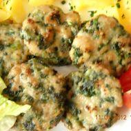 Zelený karbanátek recept