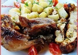 Zázvorové kuře pečené se zázvorovo  bylinkovou nádivkou recept ...