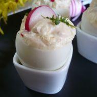 Vejce plněná hermelínovou pěnou recept