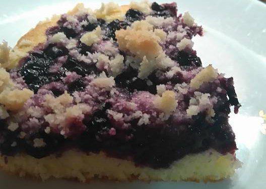 Borůvkový koláč od Aly recept