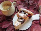 Švestkový koláč s tvarohovou náplní-šnek ( plundrové těsto ...