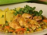 Kuřecí s rychlou majoránkovou omáčkou recept