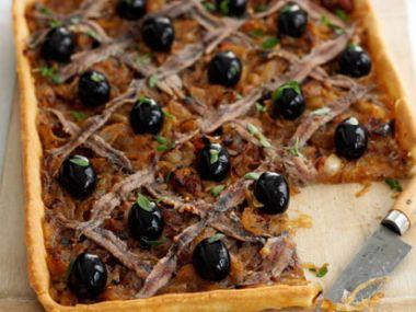 Pissaladiere  cibulový koláč