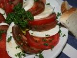 Mozzarella salát recept