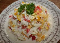 Kedlubnový salát s koprem recept