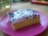 Borůvkový letní koláč s želatinou a tvarohem recept