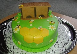 Dort s včelím úlem recept