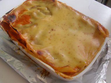 Lasagne s mletým masíčkem