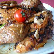 Česnekové kuře na rozmarýnu recept