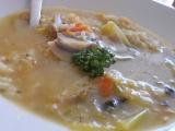 Lehká rýžová polévka s houbami a divokým kořením recept ...