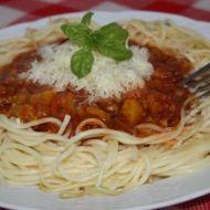 Rychlé boloňské špagety recept