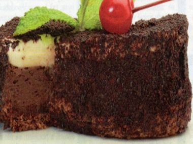 Dortík z čokolády