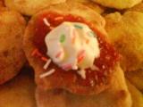 Bramborové placičky s marmeládou recept