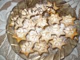 Kokosové hvězdičky recept