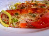 Zapečený sýr se zeleninou a šunkou recept