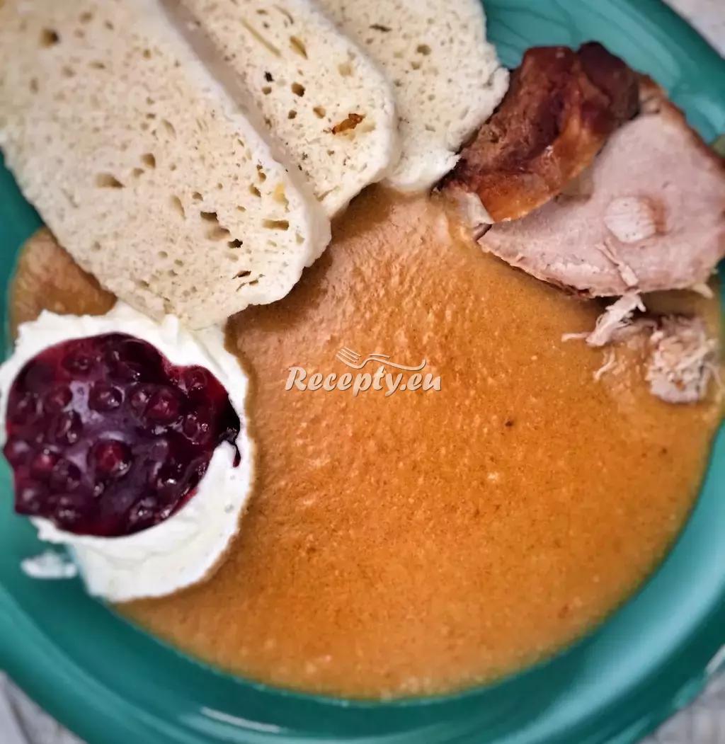 Jelení kýta na smetaně recept  slavnostní pokrmy