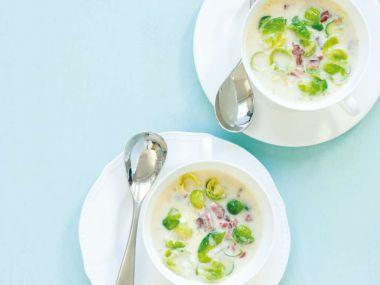 Recept Polévka z růžičkové kapusty