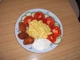 Mini kuřecí řízečky s bramborovou kaší recept