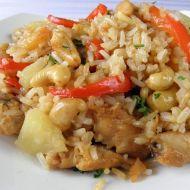 Kuřecí rýžová směs recept