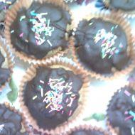 Čokoládové muffiny s kávovou polevou recept