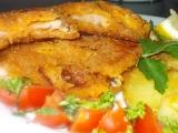Křehké kuřecí řízky s klobáskovou chutí a vůní recept