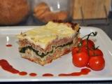 Lasagne se špenátem (2) recept