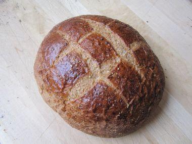 Pivní chléb s žitnou moukou