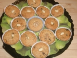 Mandlove muffinky recept