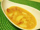 Polévka z červené čočky s buřtíkem recept
