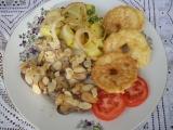 Kuřecí játra s mandlemi a jablky recept