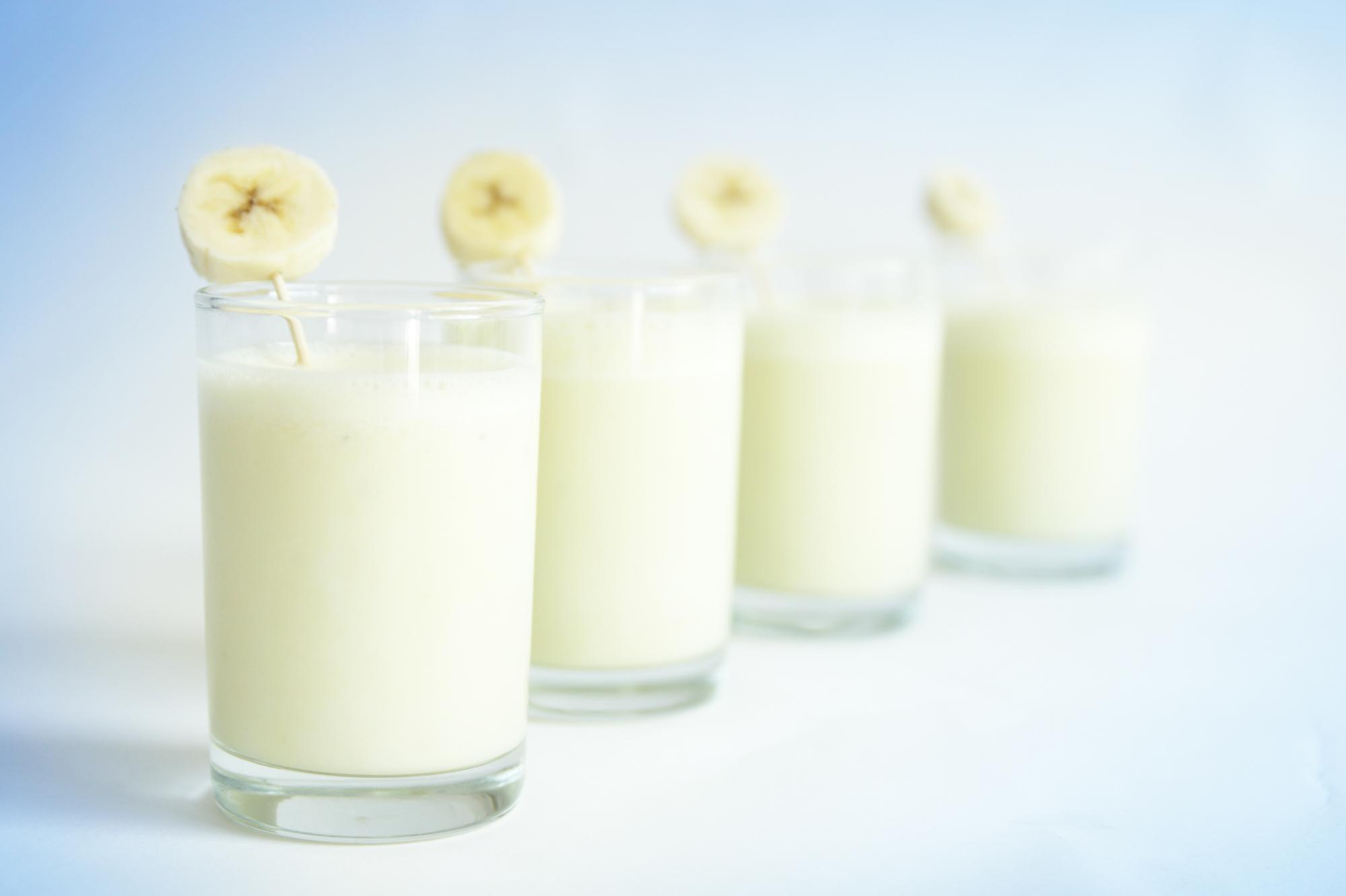 Banánový koktejl s vodkou recept
