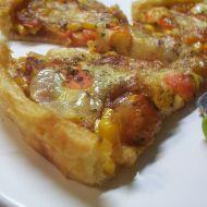 Mozzarella listový koláč recept