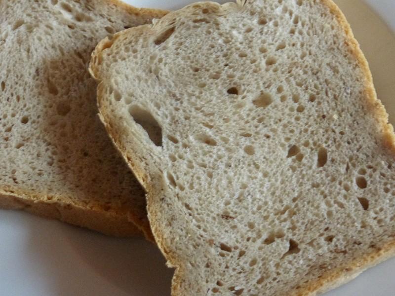 Mechový chlebík z DP recept