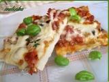 Pizza na celý plech recept