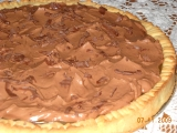 Koláč s karamelem a čokoládovým krémem recept